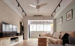 超正点温馨北欧风格二居室装修效果图